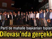 Mahalle başkanları toplantısı Dilovası'ndan başladı