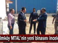 Muallimköy MTAL'nin yeni binasını incelediler!