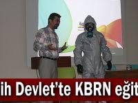 Fatih Devlet'te KBRN eğitimi