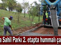 Darıca Sahil Parkı 2. etapta hummalı çalışma