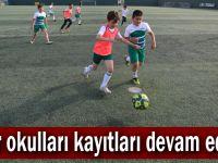 Spor okulları kayıtları devam ediyor