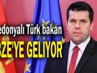 Makedonyalı Türk bakan Gebze'ye geliyor