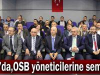 GTO'da,OSB yöneticilerine seminer
