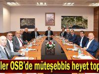 Güzeller OSB'de müteşebbis heyet toplandı
