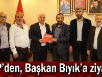 YRP'den, Başkan Bıyık'a ziyaret