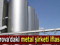 Çayırova'daki metal şirketi iflas etti!
