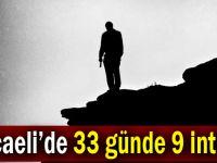Kocaeli'de 33 günde 9 intihar