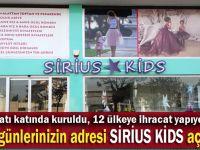 Özel günlerinizin adresi Sirius Kids showroom açılıyor
