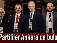 AK Partililer Ankara'da buluştu!