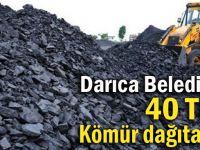 Darıca Belediyesi ihtiyaç sahiplerine kömür dağıtacak