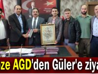 Gebze AGD'den Güler'e ziyaret