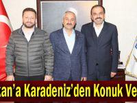 Başkan'a Karadeniz'den Konuk Vekiller