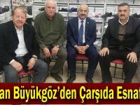 Başkan Büyükgöz'den  Çarşıda Esnaf Turu