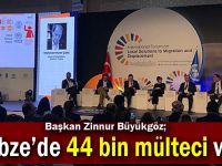 Büyükgöz Uluslararası Foruma katıldı