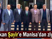 Manisa Belediye Başkanından Şayir'e ziyaret