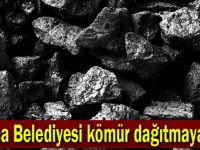 Maliyet yüksek olunca,Kömür dağıtımı iptal edildi!
