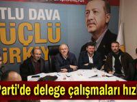 AK Parti'de delege çalışmaları hızlandı