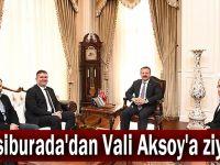 Hepsiburada'dan Vali Aksoy'a ziyaret