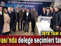 AK Parti Dilovası'nda delege seçimleri tamamlandı