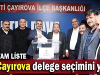 İşte AK Parti'nin Çayırova delegeleri