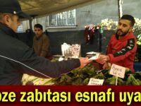 Gebze zabıtası vatandaşı uyardı!