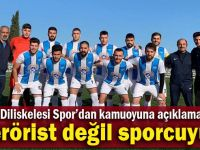 'Terörist değil sporcuyuz'