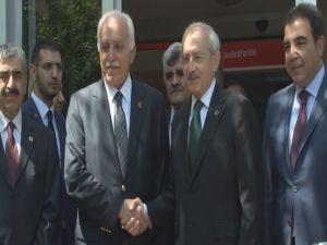 Kılıçdaroğlu Saadet Partisi'nde