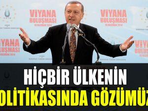 Başbakan Erdoğan Viyana'da gurbetçilere seslendi