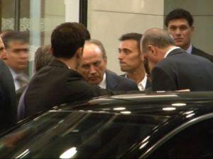 Musti Erdoğan'ı karşıladı.
