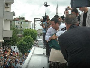 Selahattin Demirtaş bugün Darıca'da.