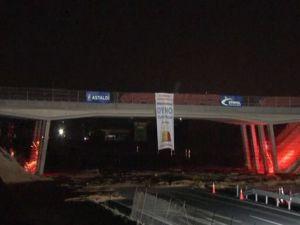 Gebze'deki köprü böyle havaya uçuruldu