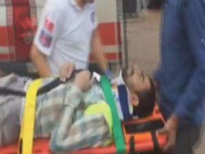 Sultanbeyli'de okul çatısı uçtu