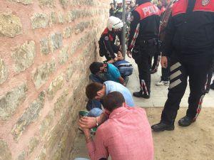Yunus Polislere çirkin saldırı