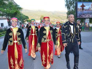 İstanbul Folklor Derneği Makedonya'da
